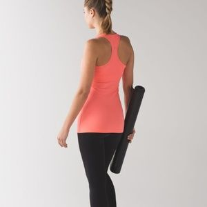 Lululemon Cool Racerback Tank in Grapefruit